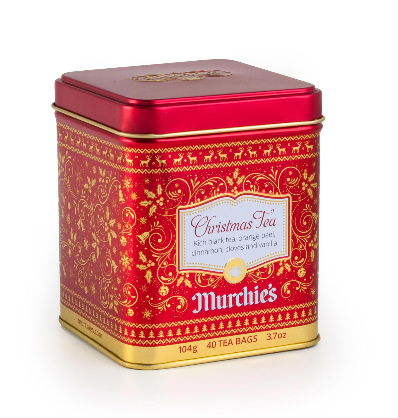 Murchie S Christmas Tea Tin Shortcreative